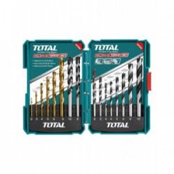 ESTUCHE 16 BROCAS TOTAL TACSD6165