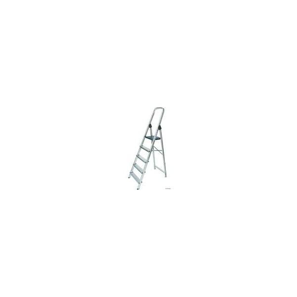 Escalera tijera aluminio 5 pelda os comercial agr cola for Escalera aluminio 5 peldanos